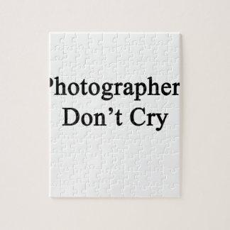 Los fotógrafos no lloran