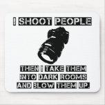 Los fotógrafos son tan violentos tapete de raton