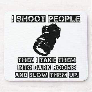 Los fotógrafos son tan violentos tapetes de ratón
