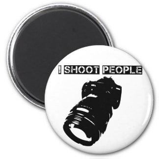 Los fotógrafos son violentos imán redondo 5 cm