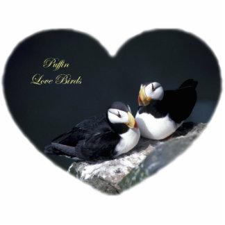 Los frailecillos de Alaska emplumaron pájaros colo Esculturas Fotograficas
