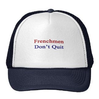 Los franceses no abandonan gorros