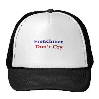 Los franceses no lloran gorros bordados