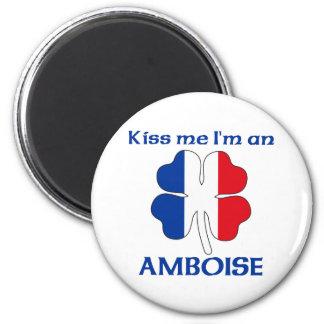 Los franceses personalizados me besan que soy Ambo Imán Redondo 5 Cm
