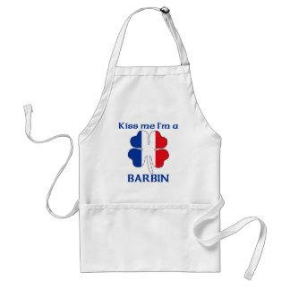 Los franceses personalizados me besan que soy Barb Delantal
