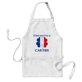 Los franceses personalizados me besan que soy Cart Delantales