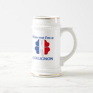 Los franceses personalizados me besan que soy Coll Taza De Café