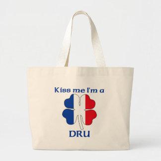 Los franceses personalizados me besan que soy Dru Bolsa