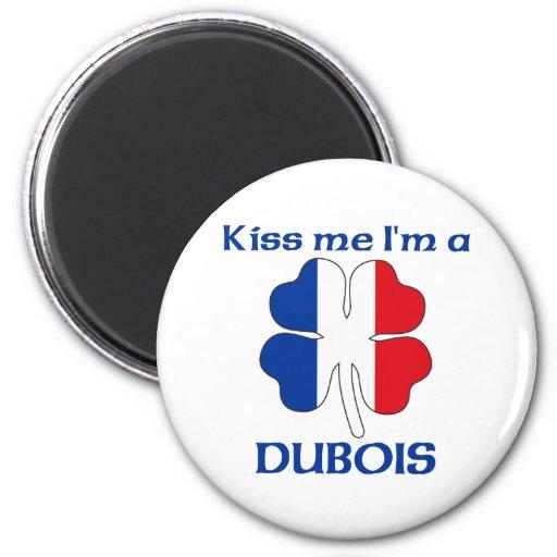 Los franceses personalizados me besan que soy Dubo Imán Redondo 5 Cm