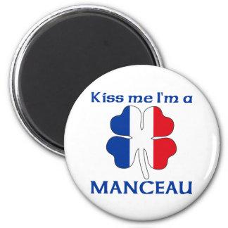 Los franceses personalizados me besan que soy Manc Iman De Nevera