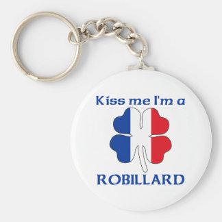 Los franceses personalizados me besan que soy Robi Llavero Redondo Tipo Pin