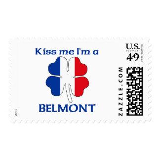 Los franceses personalizados me besan que soy sello