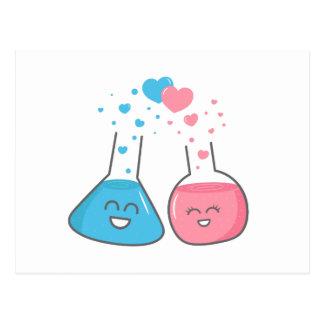 Los frascos lindos en amor, tenemos química postal