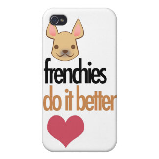 Los Frenchies mejora: caso del iPhone 4 iPhone 4 Carcasas