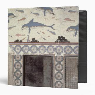Los frescos del delfín en el cuarto de baño de la