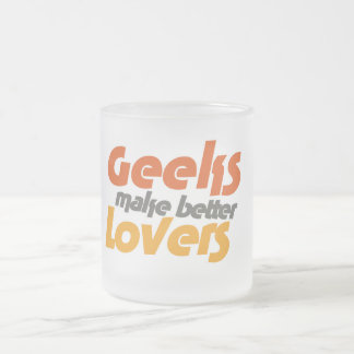 Los frikis hacen a mejores amantes taza