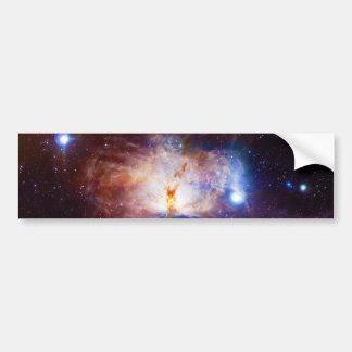 Los fuegos ocultados de la nebulosa NGC 2024 de la Pegatina Para Auto