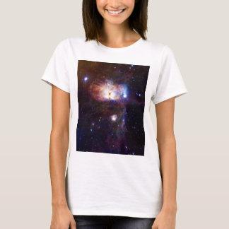 Los fuegos ocultados de la nebulosa NGC 2024 de la Playera