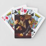 Los fulleros por los naipes de Caravaggio Baraja Cartas De Poker