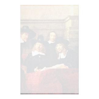 Los funcionarios del muestreo. Por Rembrandt Van Papeleria Personalizada