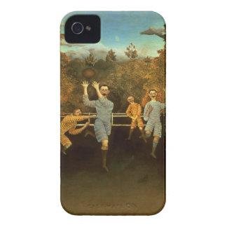 Los futbolistas, 1908 (aceite en lona) Case-Mate iPhone 4 fundas