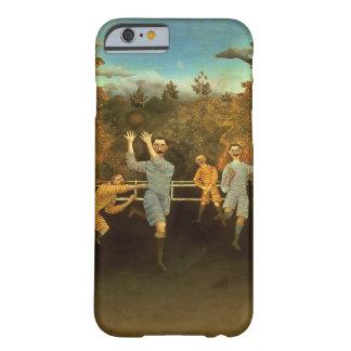 Los futbolistas, 1908 (aceite en lona) funda para iPhone 6 barely there