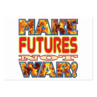 Los futuros hacen X Tarjetas De Visita Grandes