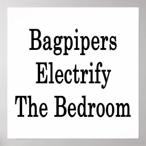Los gaiteros electrifican el dormitorio impresiones