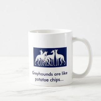 Los galgos son como microprocesadores del potatoe taza