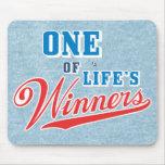 Los ganadores Mousepad de la vida Tapete De Raton