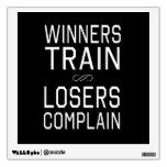 Los ganadores tren, perdedores se quejan
