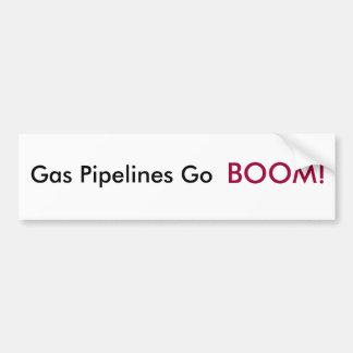 ¡Los gaseoductos van AUGE! Pegatina Para Auto