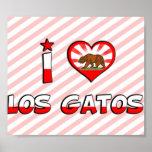 Los Gatos, CA Posters