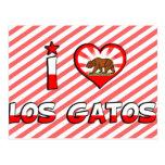 Los Gatos, CA Tarjeta Postal