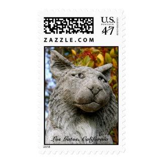Los Gatos, California Postage Stamp