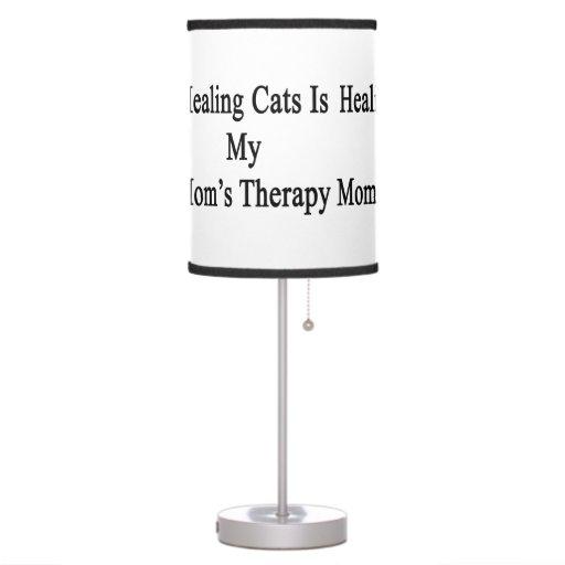 Los gatos curativos son la terapia de mi mamá