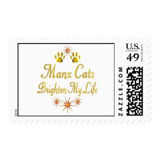 Los gatos de la Isla de Man aclaran mi vida Franqueo