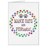 Los gatos de la Isla de Man son Funtastic Tarjetas