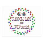 Los gatos de Ragdoll son Funtastic Postal