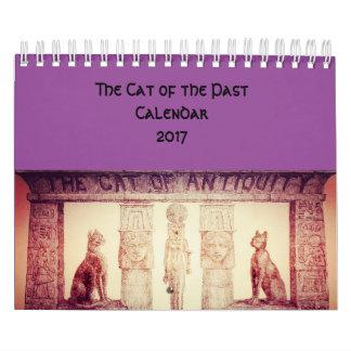 Los gatos del pasado calendarios
