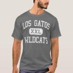 Los Gatos - gatos monteses - alto - Los Gatos Playera
