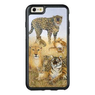 Los gatos grandes funda otterbox para iPhone 6/6s plus