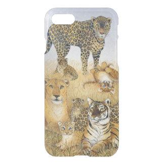 Los gatos grandes funda para iPhone 7