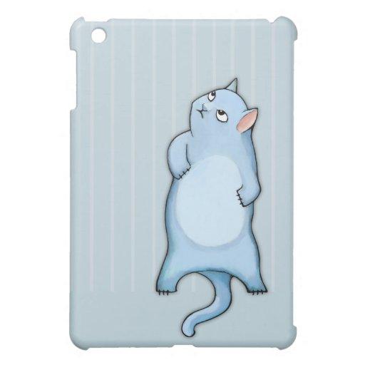Los gatos gruñones George rayan la mini caja mate  iPad Mini Protector