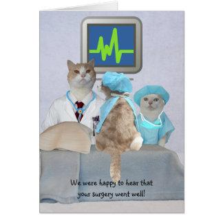 Los gatos/los gatitos divertidos adaptables tarjeta de felicitación