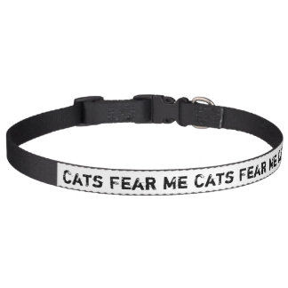 Los gatos me temen collares para perros