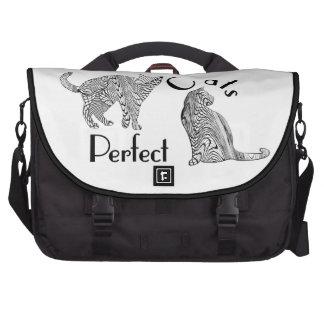 Los gatos perfeccionan diseño del estilo del bolsas para portátil