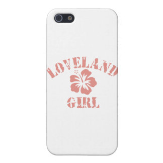 Los Gatos Pink Girl iPhone 5 Cover