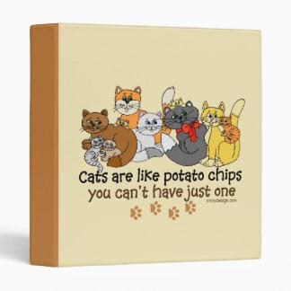 """Los gatos son como las patatas fritas carpeta 1"""""""