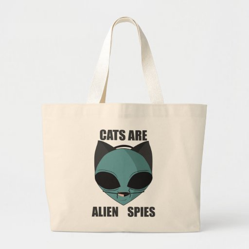 Los gatos son espías extranjeros bolsas de mano
